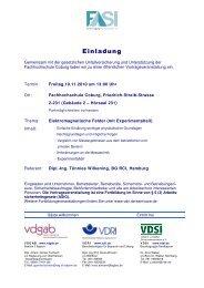 Einladung - VDSI
