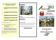 Fachinformation & Erfahrungsaustausch Bernburg - VDSI