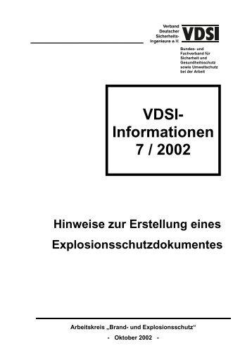 Titelblatt VDSI-Info