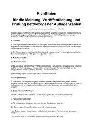 IVW Richtlinien für Heftbezogende Auflagen - VDZ