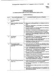 Ausbildungsrahmenlehrplan - Sachliche Gliederung - VDZ