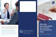 Flyer Geldwäschegesetz - VEGIS Immobilien