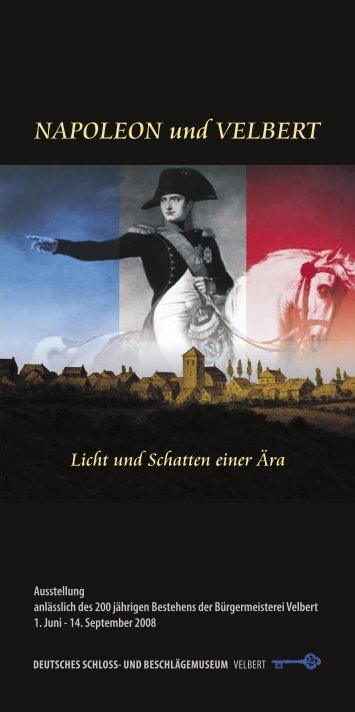 Ausstellung anlässlich des 200 jährigen Bestehens ... - Stadt Velbert