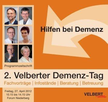 2. Velberter Demenztag - Stadt Velbert