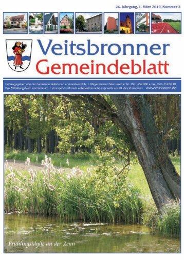 WETTBEWERB - Veitsbronn