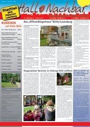 """Das """"Offene Bürgerhaus"""" - Stadt Velbert"""