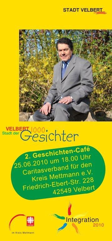 Flyer 2. Geschichtencafé - Stadt Velbert