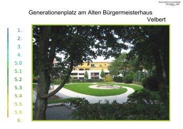 Dokumentation (pdf, ca. 1,5 MB) - Stadt Velbert