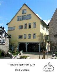 Verwaltungsbericht 2010 Stadt Vellberg