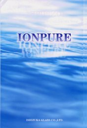 Ionpure product brochure - Velox