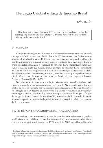 (PM6) REP 87 - Instituto de Economia da UFRJ