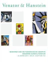 katalog 127 als pdf - Venator & Hanstein