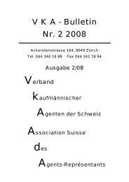 V K A - Bulletin Nr. 2 2008