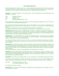 Infoblatt über die richtige Düngerwahl - Verband Wohneigentum eV