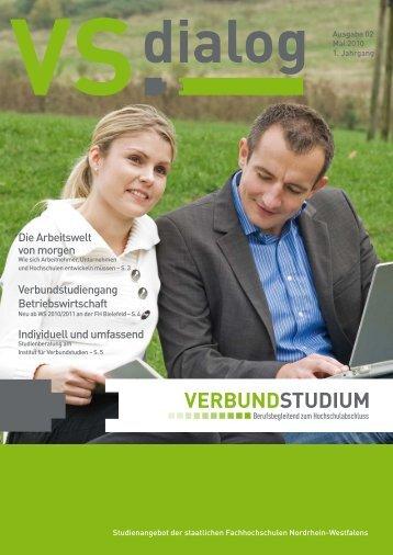 Die Arbeitswelt von morgen Verbundstudiengang Betriebswirtschaft ...