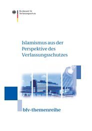 PDF-Version [136 KB] - Bundesamt für Verfassungsschutz