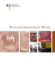 Rechtsextremistische Musik - Bundesamt für Verfassungsschutz