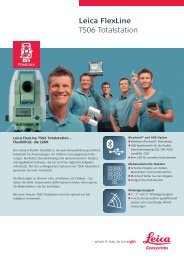 Leica FlexLine TS06 Totalstation - ArcTron