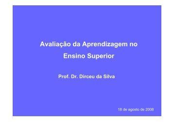 Palestra Prof Dirceu da Silva PQD Extensão - Fecap