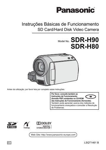 SDR-H80.pdf - Panasonic