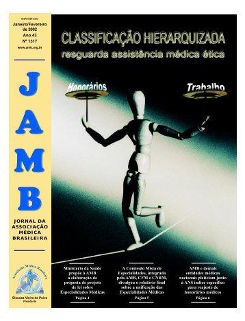 Janeiro/Fevereiro de 2002 - Associação Médica Brasileira