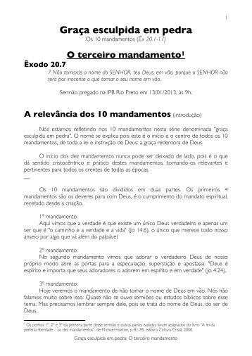 Texto Completo Do Sermo 04 Com Notas E Bibliografia