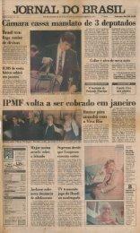 JORNAL DO BRASIL - Tom Jobim