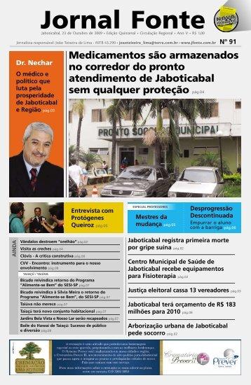 Edição 91 - Jornal Fonte