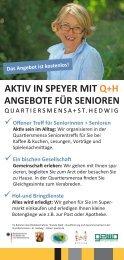 AKTIV IN SPEYER MIT Q+H ANGEBOTE FÜR SENIOREN  - VfBB
