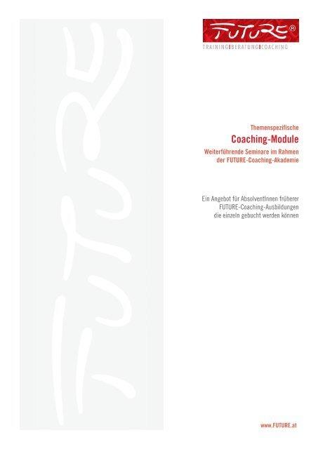 Themenspezifische Coaching Module