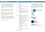 4. Stuttgarter Versicherungstag Programm Veranstalter - VGA