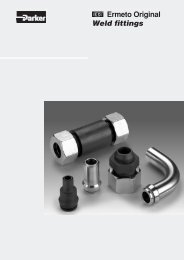 Ermeto Original Weld fittings - Tecalemit Industrial Oy