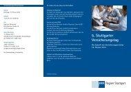 5. Stuttgarter Versicherungstag -  VGA