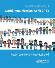 World Immunization Week 2013