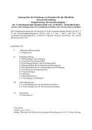 Entgeltsatzung Abwasserbeseitigung - Verbandsgemeinde ...