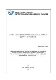 AGENTES AUXILIANDO AMBIENTES DE ... - mtc-m17:80 - Inpe