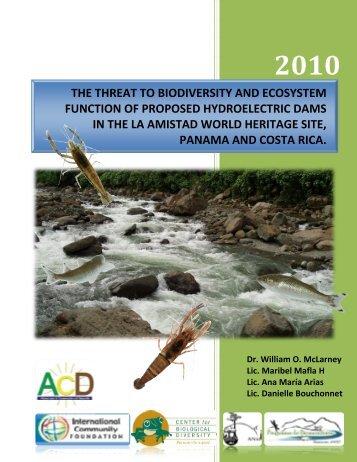 report - Center for Biological Diversity