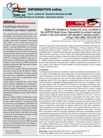 Terapia celular na cardiopatia isquêmica - Sociedade Brasileira de ...