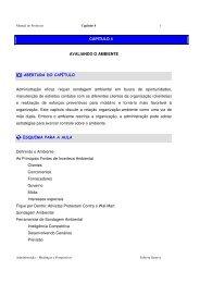 Avaliação Ambiental - Opportunity Consultoria
