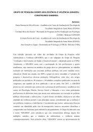 GRUPO DE PESQUISA SOBRE ADOLESCÊNCIA E ... - Unicap