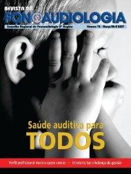 Edição 72 - Conselho Regional de Fonoaudiologia