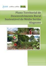 Do Médio Sertão - AL - SIT - Ministério do Desenvolvimento Agrário