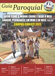 Ed.: Junho 2011 - Paróquia Santa Terezinha | Joaçaba.SC
