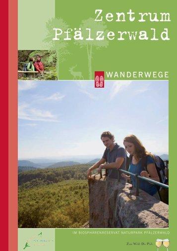 Wanderwege - Zentrum Pfälzerwald