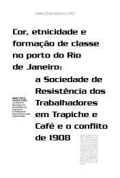 Cor, etnicidade e formação de classe no porto do Rio de ... - USP
