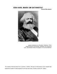 Era Karl Marx um Satanista? - Richard Wurmbrand