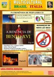 Revista_FEVEREIRO 2013 - Revista Multicultural Brasil & Italia