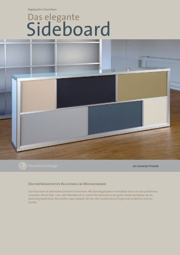 Sideboard (Regalsystem) - Chamäleon Design AG