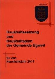 Gemeinde Egweil - VG Nassenfels