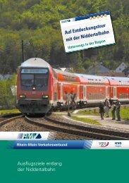 Unterwegs mit der Niddertalbahn - RMV Rhein-Main-Verkehrsverbund
